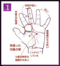 手相観察の実際的方法1