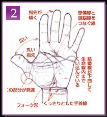 手相観察の実際的方法2